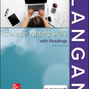 Test Bank (Downloadable Files) for College Writing Skills with Readings, 10th Edition, By John Langan, Zoe Albright, ISBN10: 1259680932, ISBN13: 9781259680939