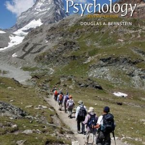 Test Bank (Downloadable Files) for Essentials of Psychology, 7th Edition, Douglas A. Bernstein, ISBN-10: 1337612391, ISBN-13: 9781337612395