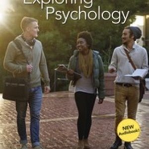 Test Bank (Downloadable Files) for Exploring Psychology, 11th Edition, David G. Myers, C. Nathan DeWall, ISBN-10: 1319104193, ISBN-13: 9781319104191