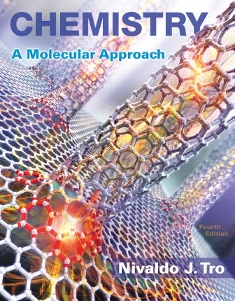 Solution Manual (Downloadable Files) for Chemistry: A Molecular Approach, 4th Edition, Nivaldo J. Tro, ISBN-10: 0134112830, ISBN-13: 9780134112831, ISBN-10: 0134103971, ISBN-13: 9780134103976