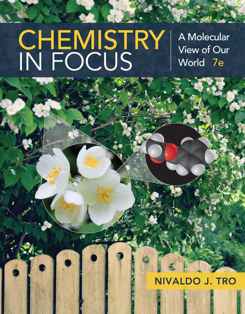 Solution Manual (Downloadable Files) for Chemistry in Focus: A Molecular View of Our World, 7th Edition, Nivaldo J. Tro, ISBN-10: 1337399698, ISBN-13: 9781337399692