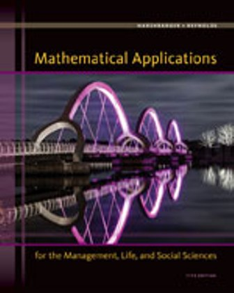 Solution Manual (Downloadable Files) for Mathematical Applications for the Management, Life, and Social Sciences, 11th Edition, Ronald J. Harshbarger, James J. Reynolds, ISBN-10: 1305108043, ISBN-13: 9781305108042