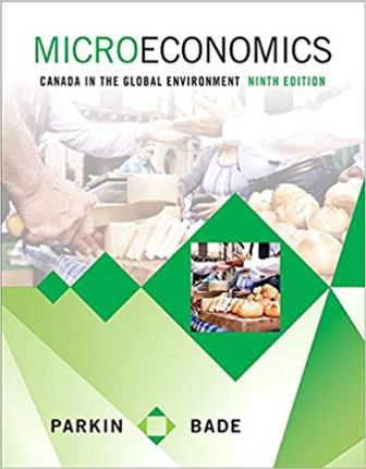 Solution Manual (Downloadable Files) for Microeconomics: Canada in the Global Environment, 9th Edition, Michael Parkin, Robin Bade, ISBN-10: 0321931181, ISBN-13: 9780321931184
