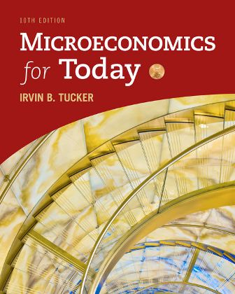 Solution Manual (Downloadable Files) for Microeconomics for Today, 10th Edition, Irvin B. Tucker, ISBN-10: 1337613061, ISBN-13: 9781337613064