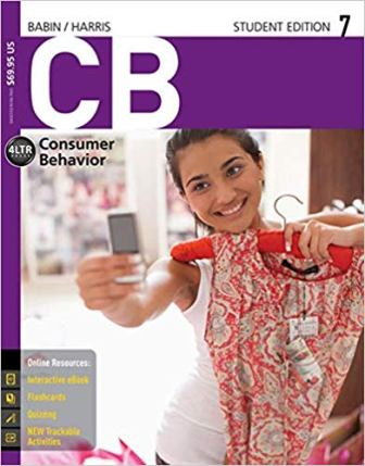 Test Bank (Downloadable Files) for CB7, 7th Edition, Barry J. Babin, Eric Harris, ISBN-10: 1305403223, ISBN-13: 9781305403222