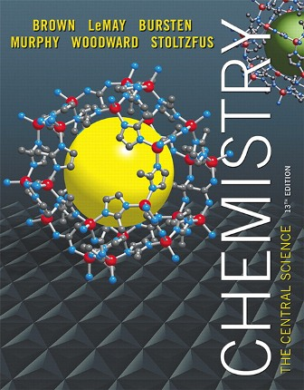 Test Bank (Downloadable Files) for Chemistry: The Central Science, 13th Edition, Theodore E. Brown, H. Eugene LeMay, Bruce E. Bursten, Catherine Murphy, Patrick Woodward, Matthew E. Stoltzfus, ISBN 10: 0321910419, ISBN 13: 9780321910417