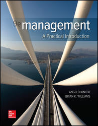 Test Bank (Downloadable Files) for Management, 9th Edition, Angelo Kinicki, Brian Williams, ISBN10: 126085485X, ISBN13: 9781260854855, ISBN10: 1260075117, ISBN13: 9781260075113