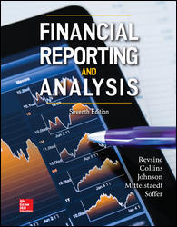 Test Bank (Downloadable Files) for Financial Reporting and Analysis, 7th Edition, By Lawrence Revsine, Daniel Collins, Bruce Johnson, Fred Mittelstaedt, Leonard Soffer, ISBN10: 1259722651, ISBN13: 9781259722653