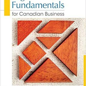 Test Bank (Downloadable Files) for Legal Fundamentals for Canadian Business, 4th Edition, Yates, ISBN10: 0133370283, ISBN13: 9780133370287