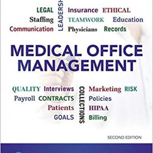 Test Bank (Downloadable Files) for Medical Office Management, 2nd Edition, Christine Malone, ISBN-10: 0134868285, ISBN-13: 9780134868288