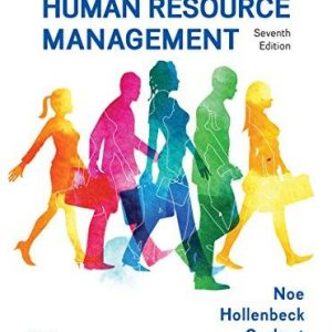 Test Bank for Fundamentals of Human Resource Management 7th Edition Raymond Noe, John Hollenbeck, Barry Gerhart, Patrick Wright ISBN: 9781259686702 9781259686702