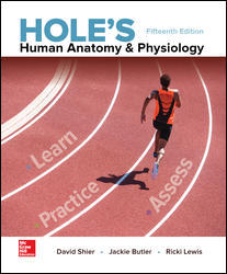 Test Bank for Hole's Human Anatomy & Physiology 15th Edition David Shier, Jackie Butler, Ricki Lewis ISBN: 9781259864568 9781259864568