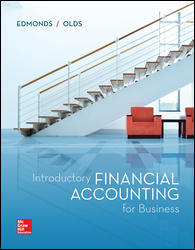 Test Bank for Introductory Financial Accounting for Business 1st Edition Thomas Edmonds, Christopher Edmonds ISBN: 9781260299441 9781260299441