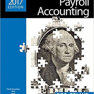 Test Bank for Payroll Accounting 27th Edition Bernard J. Bieg, Judith Toland ISBN: 9781305675124 9781305675124