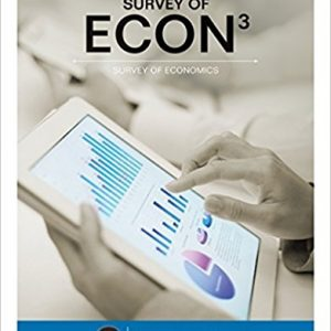 Test bank for Survey of ECON 3rd Edition Robert L. Sexton ISBN: 9781305657625 9781305657625