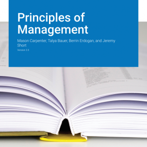 Solution manual for Principles of Management Version 2.0 1st Edition Mason A. Carpenter, Talya Bauer, Berrin Erdogan,, Jeremy Short ISBN: 9781453354469 9781453354469