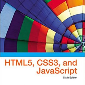 Solution manual for New Perspectives on HTML5, CSS3, and JavaScript 6th Edition Patrick M. Carey ISBN: 9781305503922 9781305503922