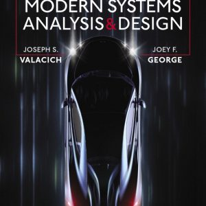 Solution Manual For Modern Systems Analysis and Design, 9th Edition By S. Valacich