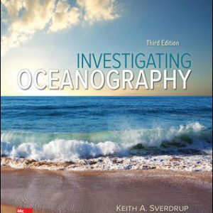 Test Bank(Downloadable files) for Investigating Oceanography 3rd Edition By Keith Sverdrup,Raphael Kudela ISBN10: 1260220621,ISBN13: 9781260220629Test Bank(Downloadable files) for Investigating Oceanography 3rd Edition By Keith Sverdrup,Raphael Kudela ISBN10: 1260220621,ISBN13: 9781260220629