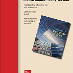 Solution Manual (Downloadable Files) for Principles of Corporate Finance 12th Edition By Richard Brealey, Stewart Myers, Franklin Allen, ISBN: 9781259718991
