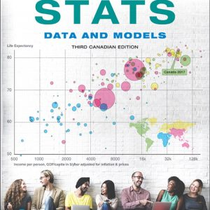 Test Bank For Stats: Data and Models, Third Canadian Edition Plus MyLab Statistics with Pearson eText 3rd Edition By Veaux