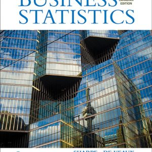 Solution Manual For Business Statistics, 3rd Canadian Edition By D Sharpe