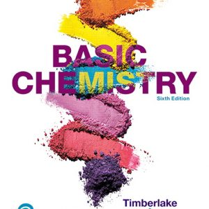 Solution Manual For Basic Chemistry, 6th Edition By C. Timberlake