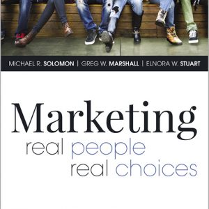 Solution Manual For Marketing: Real People, Real Choices , 10th Edition By Solomon