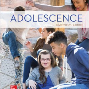 Solution Manual (Downloadable files) For Adolescence 17th Edition By John Santrock, ISBN10: 1260058786, ISBN13: 9781260058789