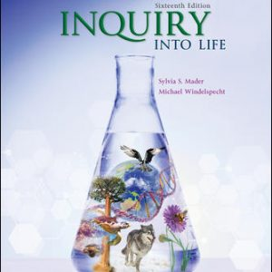 Solution Manual (Downloadable Files) For Inquiry into Life 16th Edition By Sylvia Mader, Michael Windel specht ISBN10: 1260231704 ISBN13: 9781260231700