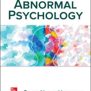Solution Manual (Downloadable files) For Abnormal Psychology 8th Edition By Susan Nolen-Hoeksema, ISBN10: 1260500187, ISBN13: 9781260500189