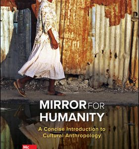 Solution Manual (Downloadable files) For Mirror for Humanity: A Concise Introduction to Cultural Anthropology 11th Edition By Conrad Kottak, ISBN 10: 125981842X, ISBN 13: 9781259818424
