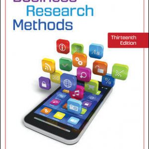 Solution Manual (Downloadable Files) for Business Research Methods 13th Edition By Pamela Schindler, ISBN 10: 1259918939, ISBN 13: 9781259918933