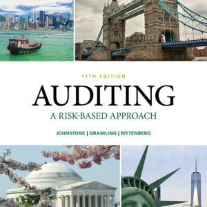Test Bank (Downloadable Files) for Auditing: A Risk Based-Approach, 11th Edition By Karla M. Johnstone-Zehms, Audrey A. Gramling, Larry E. Rittenberg, ISBN-10: 1337619493, ISBN-13: 9781337619493