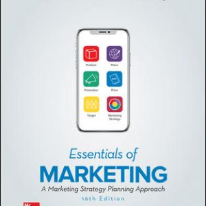 Test Bank (Downloadable files) For Essentials of Marketing 16th Edition By William Perreault, Jr., Joseph Cannon, E. Jerome McCarthy, ISBN 10: 126040532X, ISBN 13: 9781260405323