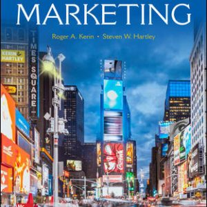 Test Bank (Downloadable files) For Marketing 14th Edition By Roger Kerin, Steven Hartley, ISBN 10: 1259924041, ISBN 13: 9781259924040