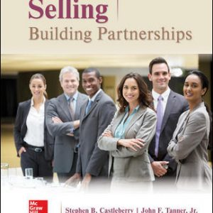 Solution Manual (Downloadable files) For ABC's of Relationship Selling through Service 13th Edition By Charles Futrell, Raj Agnihotri, Mike Krush, PhD, ISBN 10: 1260169820, ISBN 13: 9781260169829
