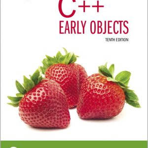 Test Bank For Starting Out with C++: Early Objects, 10th Edition By Gaddis