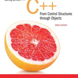 Solution Manual For Starting Out with C++ from Control Structures to Objects 9th Edition By Gaddis