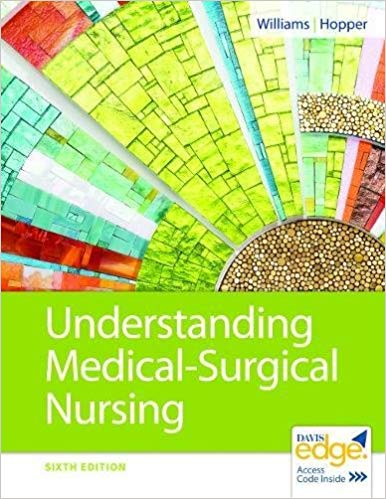 Test Bank for Understanding Medical-Surgical Nursing 6th Edition by Williams ISBN-10: 0803668988, ISBN-13: 9780803668980