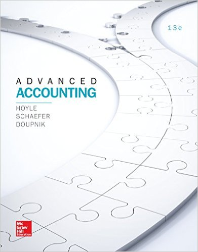 Test Bank for Advanced Accounting, 13th Edition, Joe Ben Hoyle